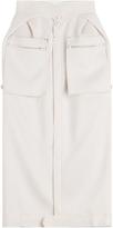 Maison Margiela Midi Skirt with Patch Pockets