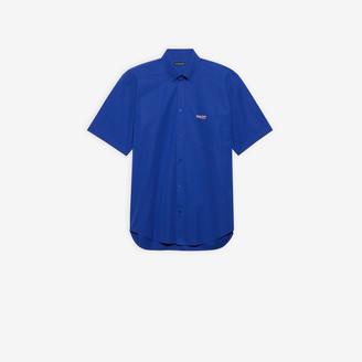 Balenciaga Political Campaign Short Sleeve Shirt