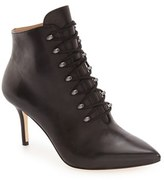 Pour La Victoire 'Vittoria' Lace-Up Pointy Toe Bootie (Women)