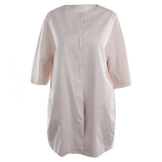 Fabiana Filippi Pink Cotton Jacket for Women