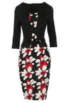 Babyonlinedress Ladies Elegant Long Sleeve Pencil Business OL Dress