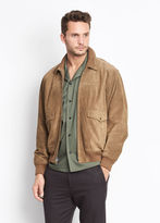 Vince Suede Flight Jacket