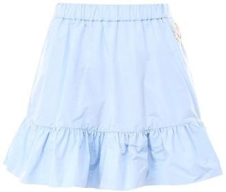 MONCLER GENIUS Moncler X Simone Rocha Logo Embroidered Mini Skirt