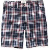 L.L. Bean L.L.Bean Summer Shorts, Madras