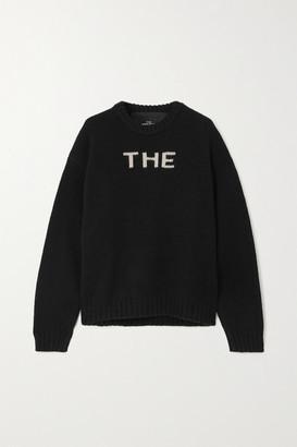 Marc Jacobs Jacquard-knit Wool-blend Sweater