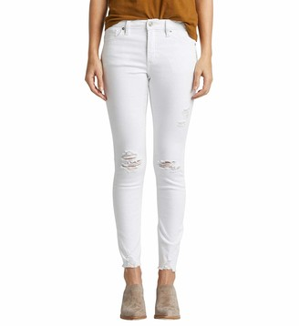 Silver Jeans Co. Women's Most Wanted Mid Rise Skinny Jeans