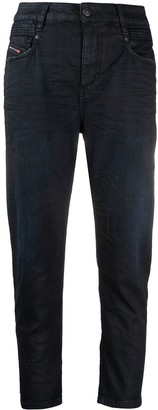 Diesel Fayza mid-rise boyfriend jeans
