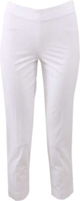 Brunello Cucinelli Cotton Side Zip Pant