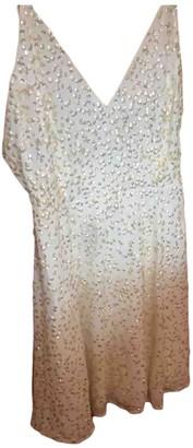 ASOS Beige Glitter Dress for Women
