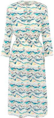 Primrose Park London Tiffany Dress In Wave