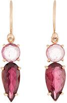 Irene Neuwirth Women's Pink Tourmaline Double-Drop Earrings