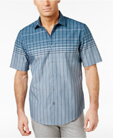 Alfani Men's Norwich Grid Cotton Shirt, Only at Macy's