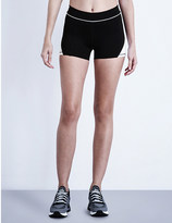 Ivy Park Colour-block jersey biker shorts