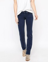 7 For All Mankind Roxanne Colored Silk Touch Skinny Jeans