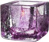 Kosta Boda Brick Votive - Purple