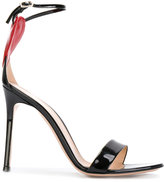 Gianvito Rossi Love cut-out heart sandals