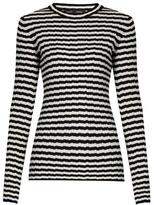 Proenza Schouler Striped silk and cashmere-blend sweater