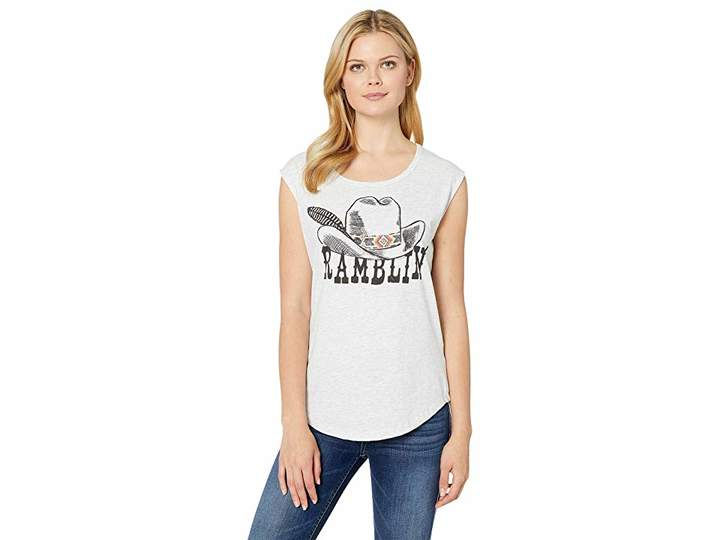Rock and Roll Cowgirl Graphic Tank Top 49-9383