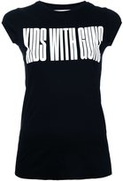 Strateas Carlucci 'Kids with Guns' print T-shirt