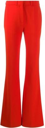 Victoria Victoria Beckham Split Hem Flared Trousers