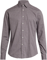 Glanshirt Kent point-collar cotton shirt