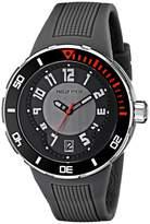 Philip Stein Teslar Men's 34-BGR-RGR Extreme Rubber Strap Watch