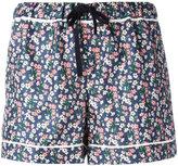 Moncler floral print shorts - women - Silk - 38