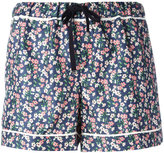 Moncler floral print shorts - women - Silk - 40