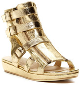 Michael Antonio Darla Metallic Wedge Sandal