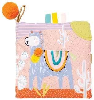 The Manhattan Toy Company Manhattan Toy Llama Soft Book