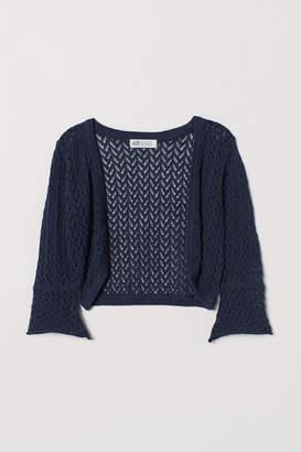 H&M Loose-knit Bolero Jacket