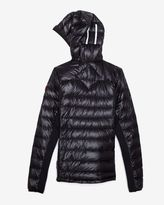 Canada Goose Lite Hybridge Hooded Jacket: Black