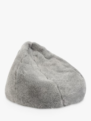 John Lewis & Partners Faux Fur Bean Bag