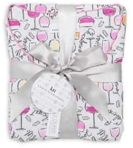Karen Neuburger Wine Print Pajama Gift Set