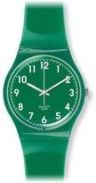 Swatch Women's GG217 Analog Display Swiss Quartz Watch