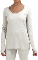 Yummie Tummie Pima Cotton and Modal T-Shirt - Long Sleeve (For Women)
