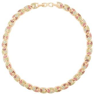 Susan Caplan Vintage 1980's D'Orlan embellished necklace