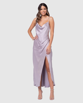 Pilgrim Aurora Satin Dress