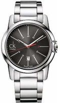 Calvin Klein Men's Select K0A21561 Silver Stainless-Steel Analog Quartz Watch with Dial