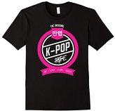 K-POP Hype Eat Sleep K-Pop Repeat T-Shirt Hangul Clothing