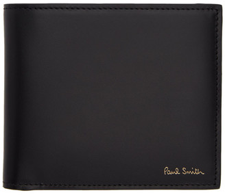 Paul Smith Black Naked Lady Bifold Wallet