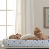 BreathableBaby Wick-Dry Changing Pad Cover - Blue Dot
