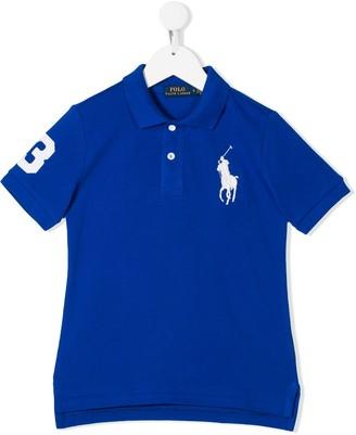 Ralph Lauren Kids Big Pony logo polo shirt
