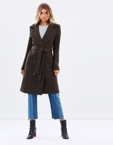 Petra Double-Breasted Wool Blend Coat