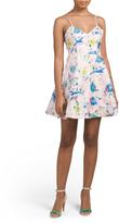 Juniors Double Strap Floral Dress