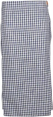 Simon Miller Plaid Pattern Skirt
