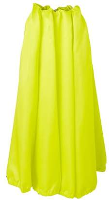 Nina Ricci Long satin skirt