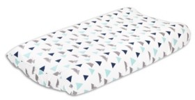 The Peanut Shell The Mountains Changing Pad Cover Bedding
