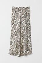 H&M Calf-length Skirt - Gray