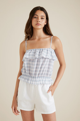 Seed Heritage Gingham Cami